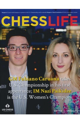 CLEARANCE - Chess Life Magazine - July 2016 Issue