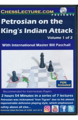Petrosian on the King's Indian Attack - Chess Lecture - Volume 178 - 2 DVDs