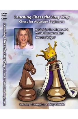 E-DVD LEARNING CHESS THE EASY WAY - Chess for Absolute Beginners