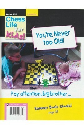 CLEARANCE - Chess Life For Kids Magazine - August 2013