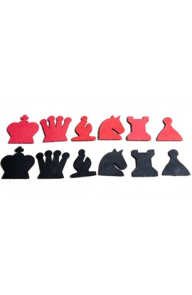 """Extra Pieces for your 28"""" Magnetic-Style Chess Demonstration Set"""