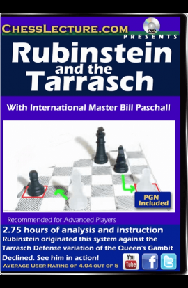 Rubinstein and the Tarrasch - Chess Lecture - Volume 122