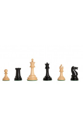 CLEARANCE - The Anderssen Dropjaw Timeless Chess Pieces - 2.875'' King