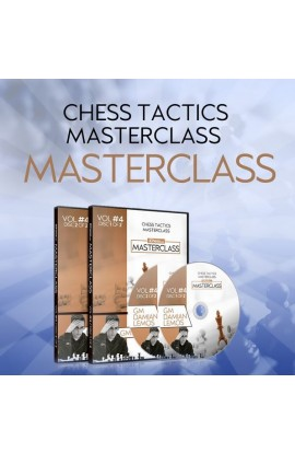 MASTERCLASS - Damian Lemos' Tactics Chess Masterclass – GM Damian Lemos - Over 9 hours of Content! - Volume 4