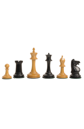 The Library Collection - The Anderssen Dropjaw Series Luxury Chess Pieces - 3'' King