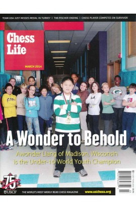 CLEARANCE - Chess Life Magazine - March 2014 Issue