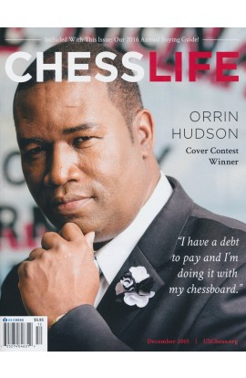 CLEARANCE - Chess Life Magazine - December 2015 Issue