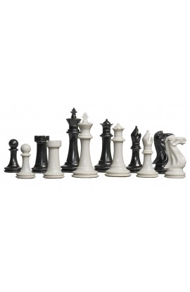 "The Big Knight Series Plastic Chess Pieces - 3.875"" King"
