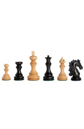 "The Ravenna Series Luxury Chess Pieces - 4.4"" King"