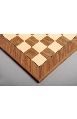 Walnut and Maple Standard Traditional Chess Board