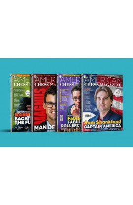 American Chess Magazine - One Year (4 Issue) Subscription - Choose Which Issue to Start With!