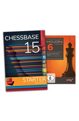 Houdini 6 Standard and ChessBase 15 Starter - Bundle
