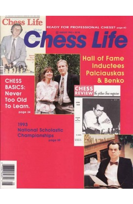 CLEARANCE - Chess Life Magazine - August 1993 Issue