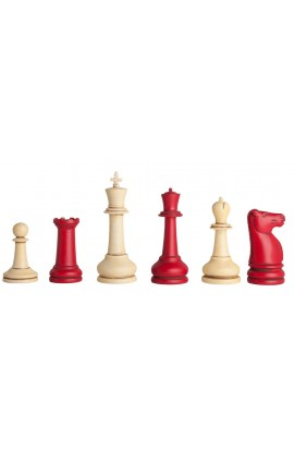 Classic Staunton Chess Pieces - LARGE
