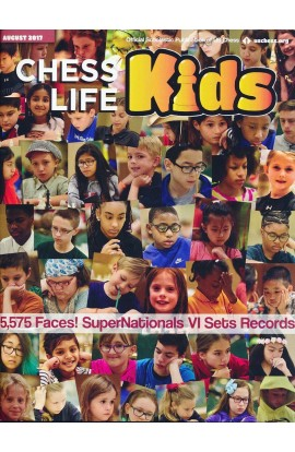 CLEARANCE - Chess Life For Kids Magazine - August 2017 Issue