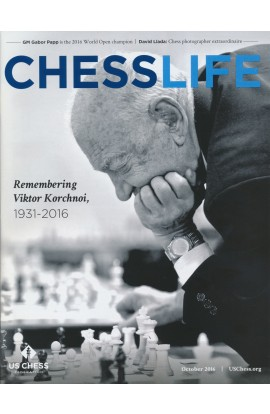 CLEARANCE - Chess Life Magazine - October 2016 Issue