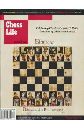 CLEARANCE - Chess Life Magazine - December 2012 Issue