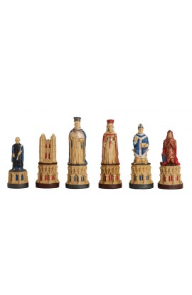 The Canterbury Cathedral Chess Pieces