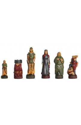 The Robin Hood Chess Pieces