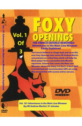 E-DVD FOXY OPENINGS - VOLUME 101 - Adventures in the Main Line Winawer