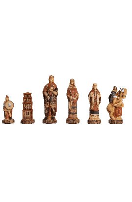 The Battle of Hastings Chess Pieces