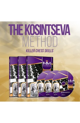 E-DVD - MASTER METHOD - The Kosintseva Method - GM Nadya Kosintseva - Over 15 hours of Content!
