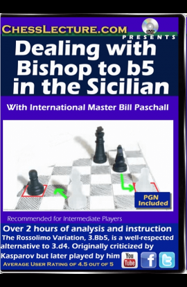 Dealing with the Bishop to b5 in the Sicilian - Chess Lecture - Volume 127