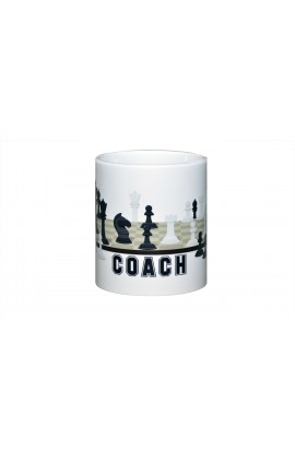Chess Coach Coffee Cup