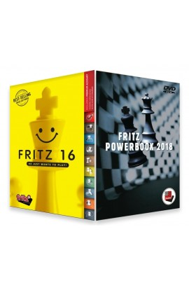 Fritz 16 Chess Playing Software Bundled with Powerbook 2018 Chess Software