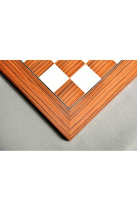 CLEARANCE - Sapele and Maple Standard Traditional Chess Board
