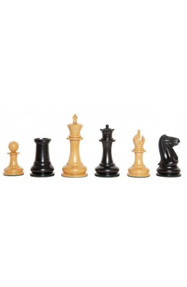 "The Genuine Staunton Collection - The Cooke 1849 Series Luxury Chess Pieces - 4.4"" King"