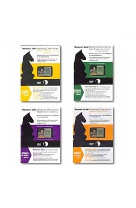 Complete Roman's Lab 'Mastering Chess' Series on DVD : Volumes 1-4 (4 DVDs)