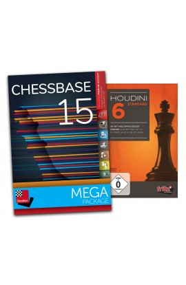 Houdini 6 Standard and ChessBase 15 Mega - Bundle