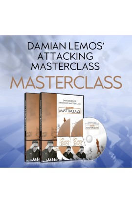 MASTERCLASS - Damian Lemos' Attacking Masterclass – GM Damian Lemos - Over 10 hours of Content!