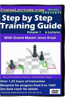 Step by Step Training Guide -  in 5 Steps, Beginner to 1600 - Chess Lecture - Volume 2