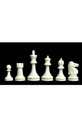 "The Reykjavik Series Plastic Chess Pieces - 3.75"" King"