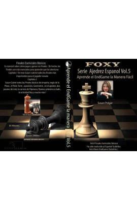 CHESSDVDS.COM IN SPANISH - WINNING CHESS THE EASY WAY - #8 - Essential Basic Endgames - VOL. 5