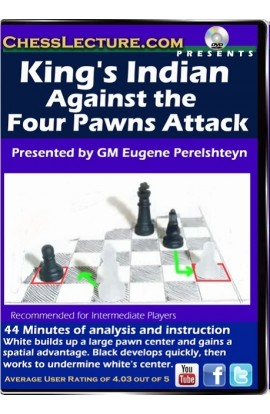 Kings Indian Against the Four Pawns Attack front