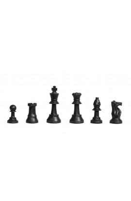 "Analysis Plastic Chess Pieces - 2.5"" King"