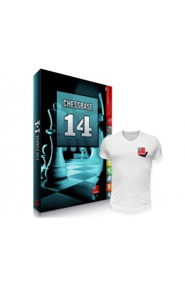 CHESSBASE 14 - MEGA Edition with FREE T-Shirt