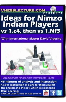 Ideas for Nimzo Indian Players vs 1.c4, then 1.Nf3 Front