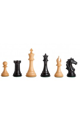 """CLEARANCE - The Cremona Series Artisan Chess Pieces - 4.4"""" King"""