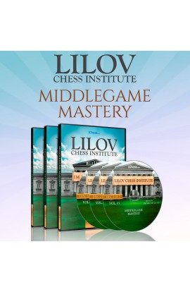 Lilov Chess Institute - #4 - Secrets of the Middlegame - 2 DVDs  - IM Valeri Lilov - Over 11 Hours of Content!