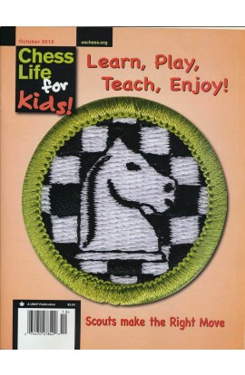 CLEARANCE - Chess Life For Kids Magazine - October 2013 Issue