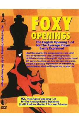 FOXY OPENINGS - VOLUME 92 - The English Opening for the Average Player