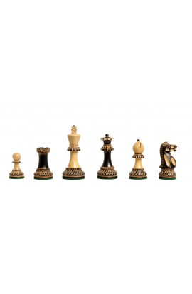 "The Burnt Grandmaster II Series Chess Pieces - 4.0"" King"