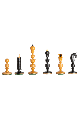 "The Biedermeier Series Luxury Chess Pieces - 4.4"" King"