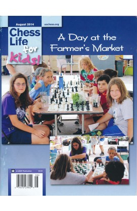 CLEARANCE - Chess Life For Kids Magazine - August 2014 Issue
