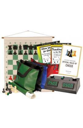 Scholastic Chess Club Starter Kit - For 10 Members - With Zmart Chess Clocks