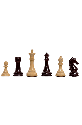 "The Candidates Series Chess Pieces - 4.25"" King - Woodtek"